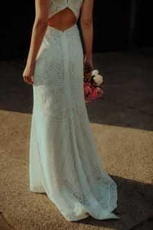 Brautkleid Melica mit Schleppe