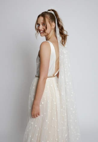 Kleid Astrantia mit Schleier Sagina