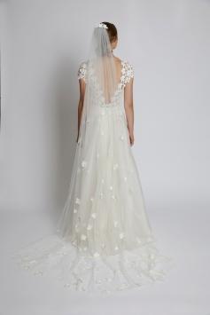 Kleid Silene mit Schleier Primula